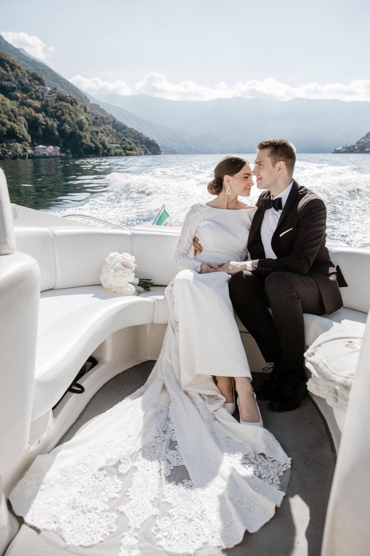 Интернациональная свадьба на вилле на озере Комо