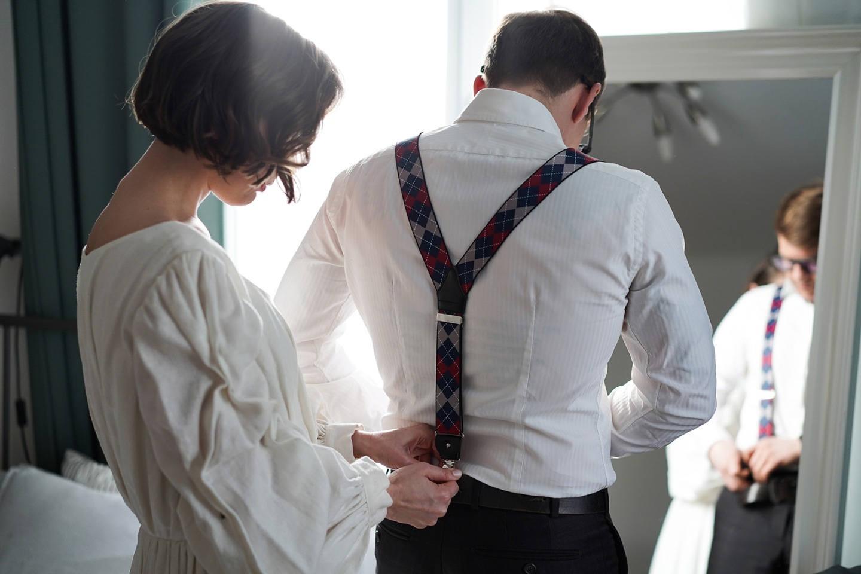 «Жизнь как продолжительное свидание»: весенняя свадьба для двоих
