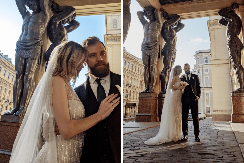 Feelings in St. Petersburg: благородная свадьба в ресторане