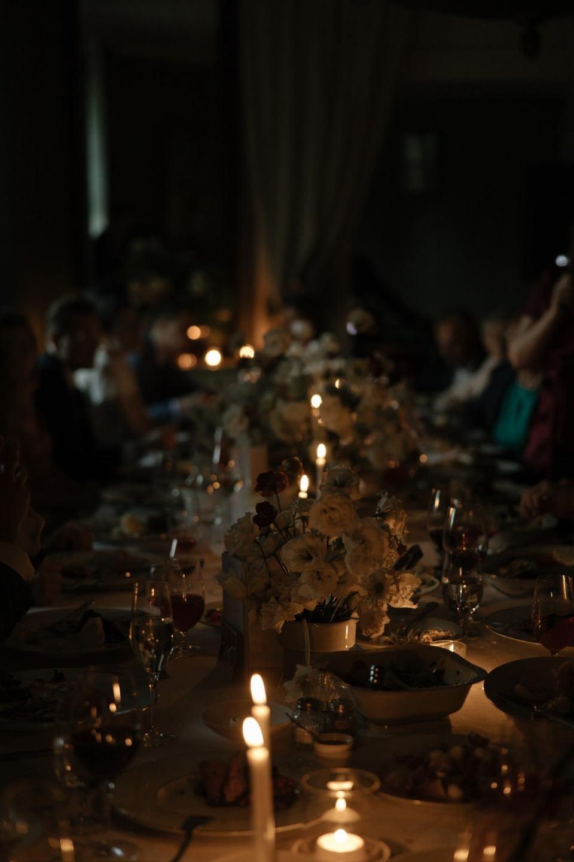 Perfect white: лаконичная свадьба в замке