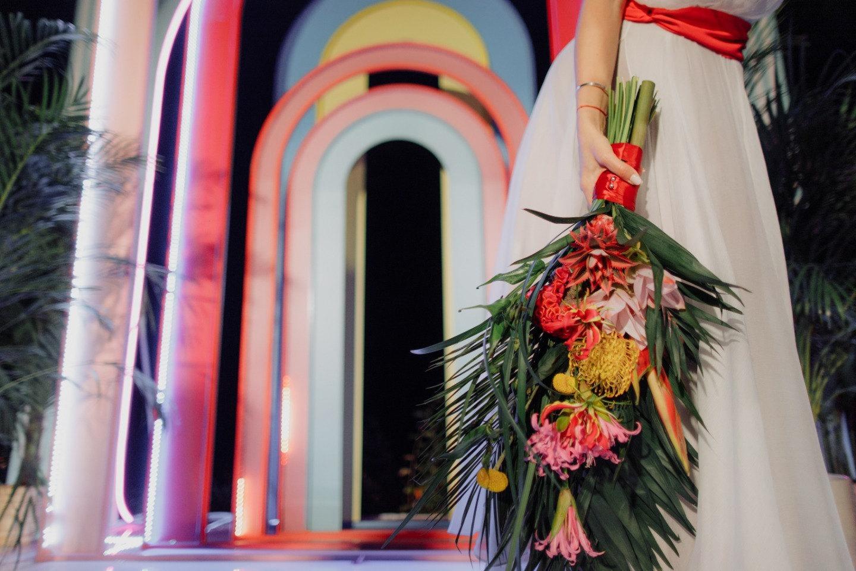 Cuba in hearts: зажигательная свадьба в латиноамериканских мотивах