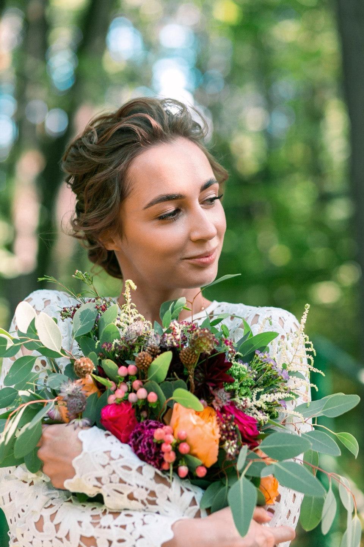 Breath of nature: уютная свадьба у воды