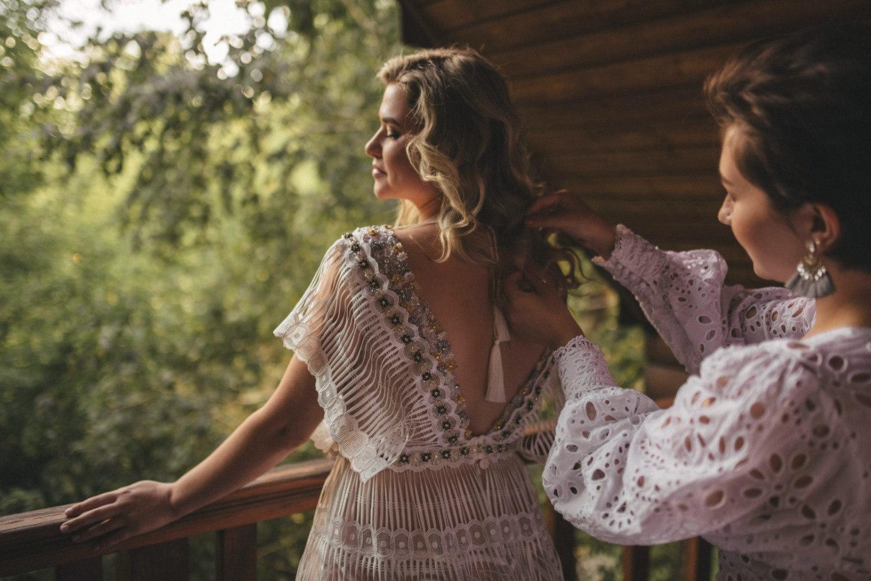 Единение с природой: свадьба на свежем воздухе