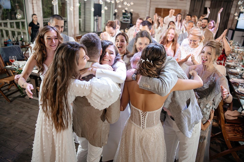 Pine River: лесная свадьба в скандинавском стиле