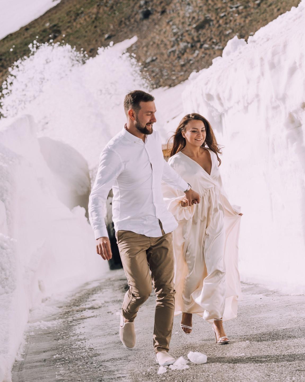 Pink, beige and black: романтическая свадьба в Черногории