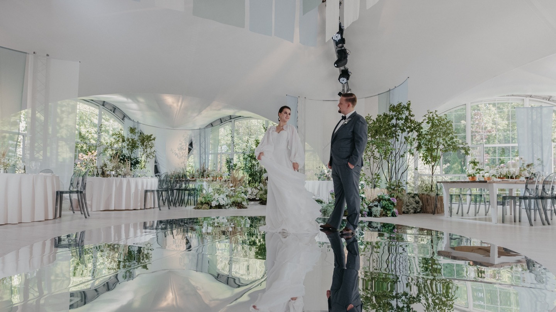 Естественность: воздушная эко-свадьба за городом