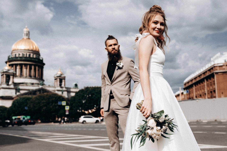 Только для двоих: свадьба в Санкт-Петербурге