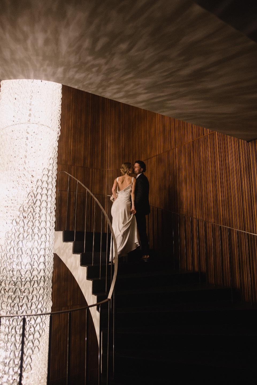 Zero gravity: минималистичная элегантная свадьба