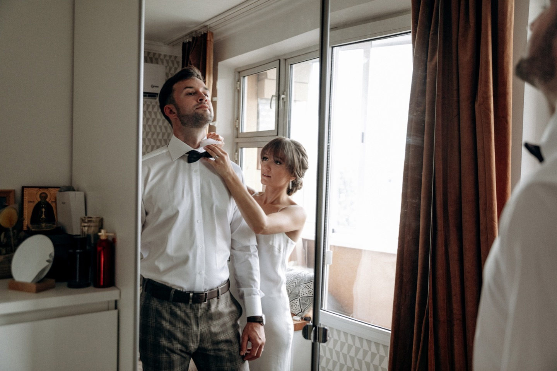 Французская классика: романтическая свадьба за городом