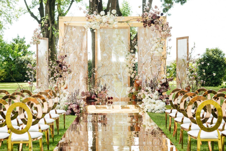 Chic love: роскошная свадьба в Венеции