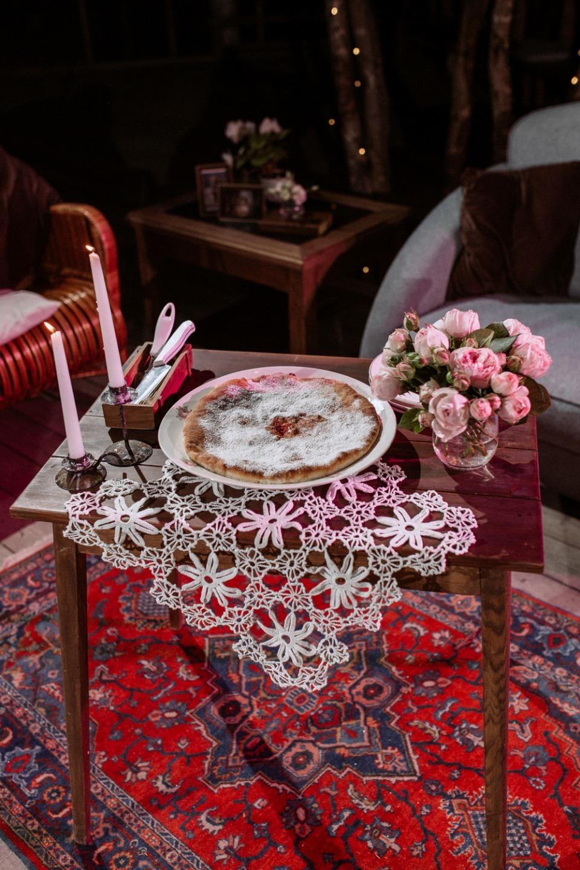 Семейный ужин на даче: богемная свадьба на природе