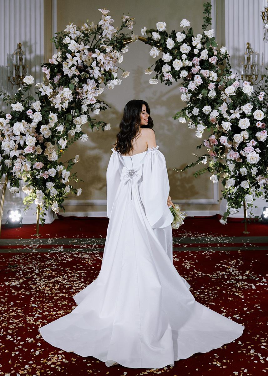 Love of elegance: романтическая свадьба в отеле