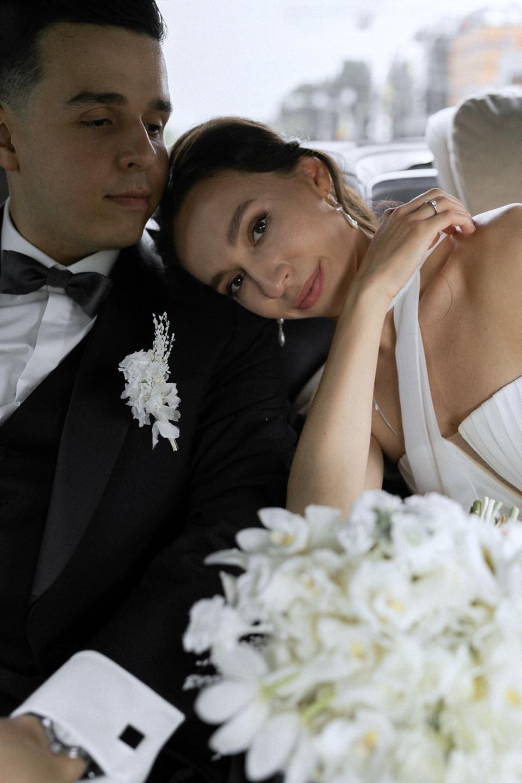 Minimalism & retro: свадьба в стиле фильмов старого Голливуда