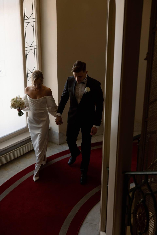 Woody Allen movies: современная элегантная свадьба с ретро-нотками