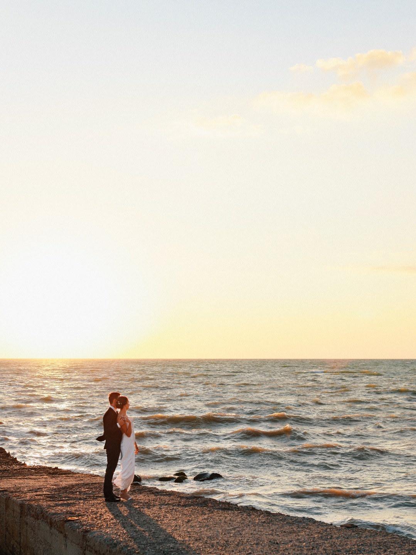 Sea and mountains: рустик-свадьба у моря