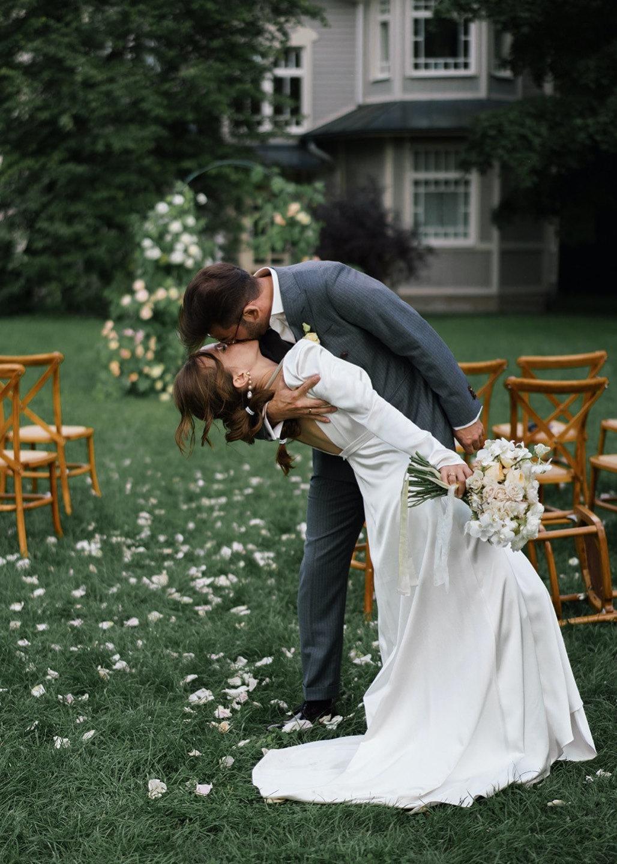 Peter, Italy and love: эко-свадьба на открытом воздухе
