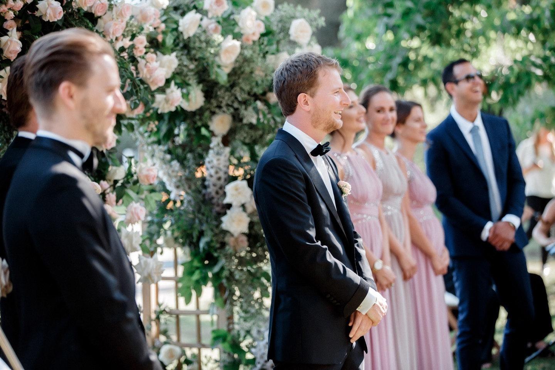 Ароматы ботанического сада: роскошная свадьба на частном острове