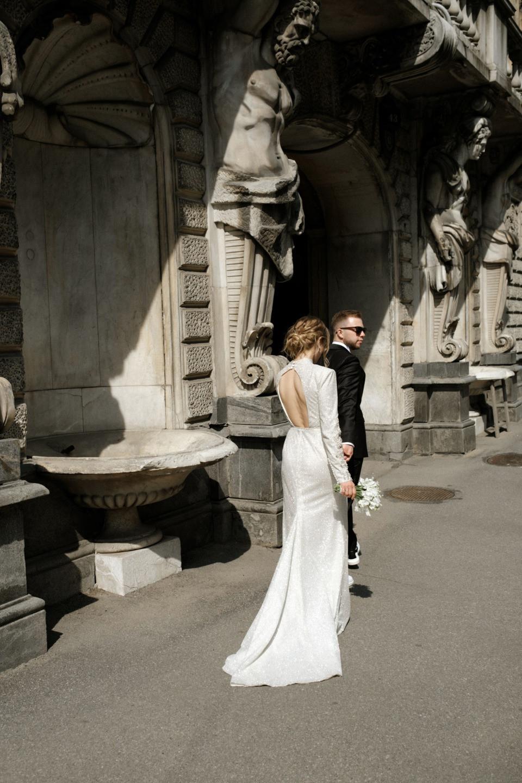 Aesthetics for two: свадьба для двоих в отеле
