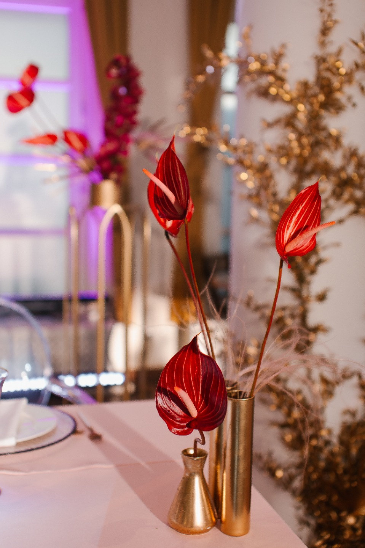 Современная классика: свадьба в розовых оттенках