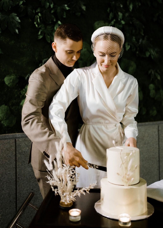 Be yourself: минималистичная свадьба в дизайнерском отеле
