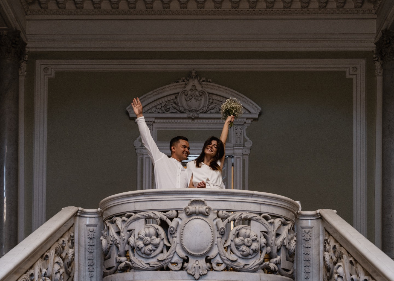 Элегантная свадьба для двоих в Санкт-Петербурге