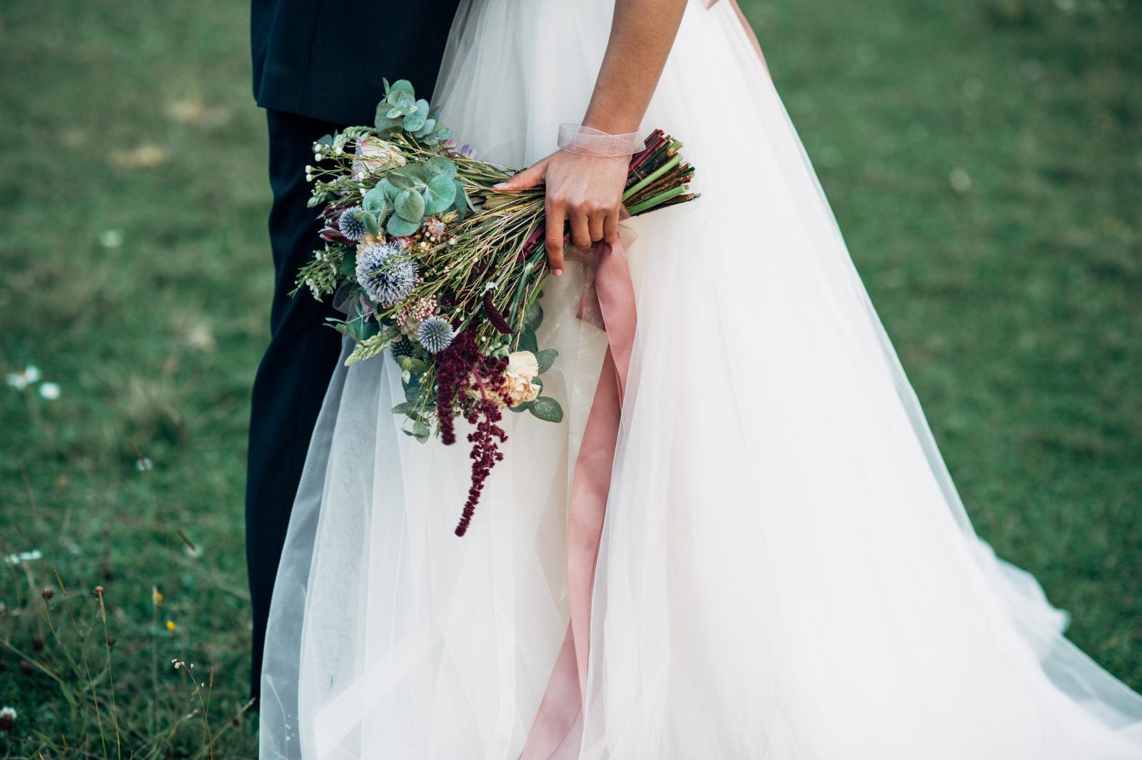 Символика цветов в букете невесты
