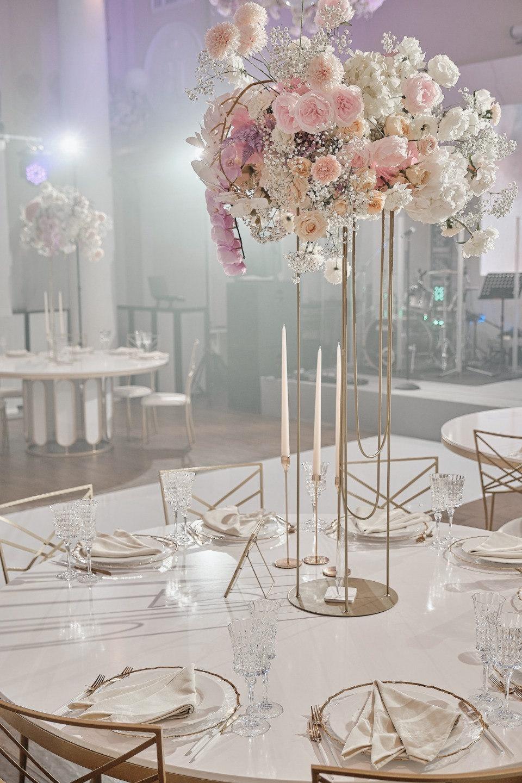 Air and water: свадьба в светлых оттенках
