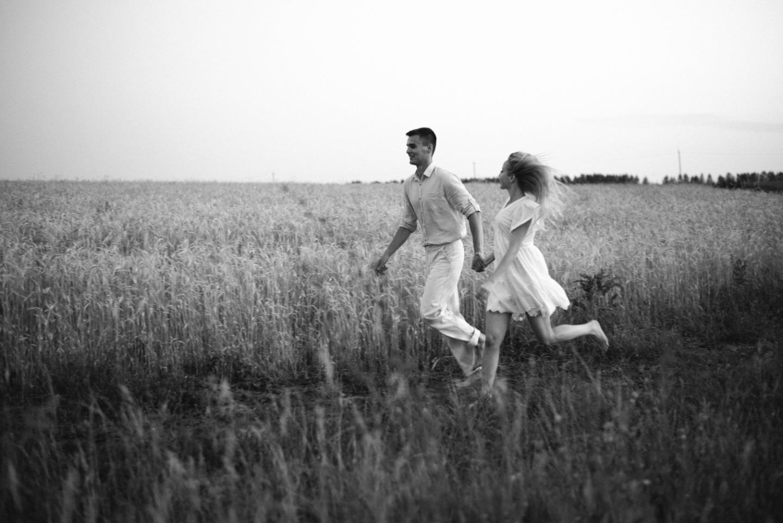 Ветер в поле: стилизованная фотосессия-свадьба в стиле бохо