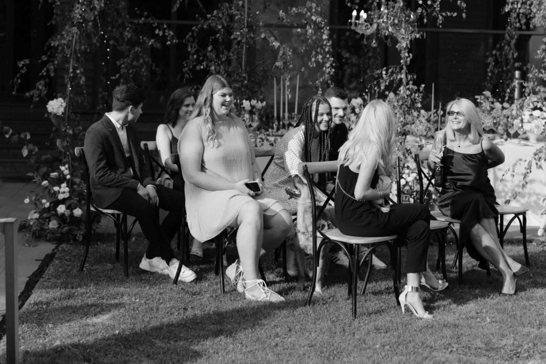 Childhood story: европейская свадьба за городом