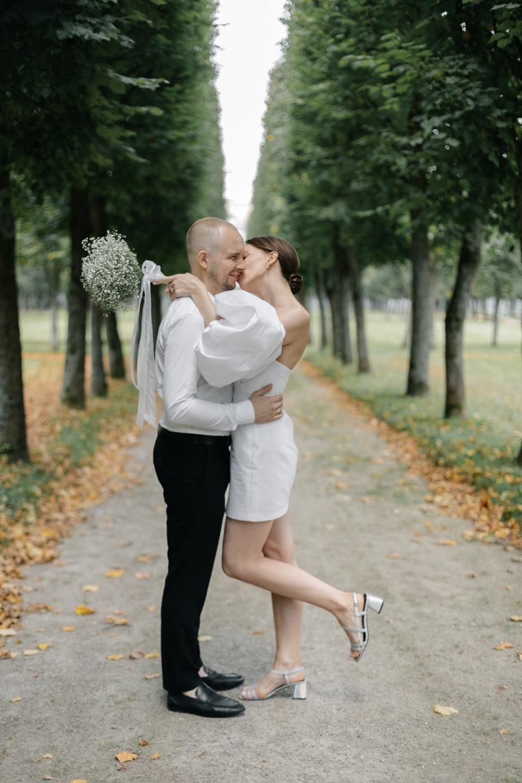 Heartfulness: лаконичная свадьба в ресторане