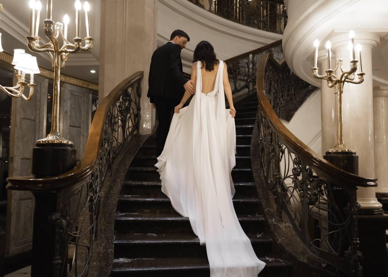 Classics and elegance: камерная стильная свадьба