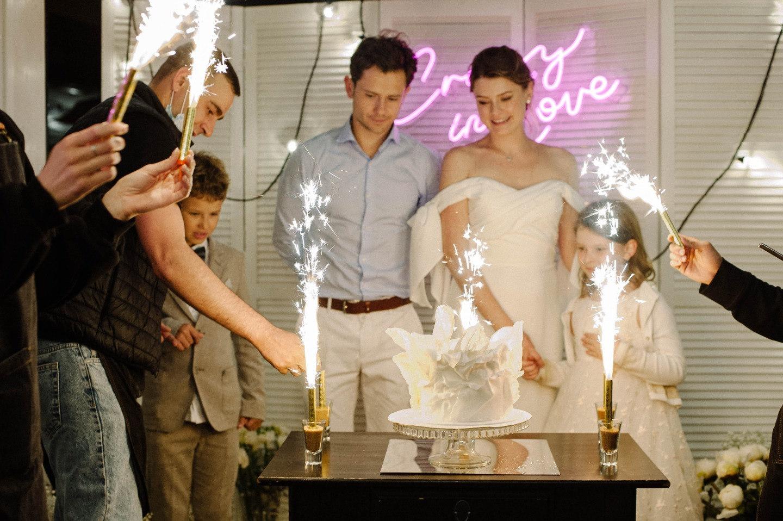 Семейная и душевная свадьба в ресторане