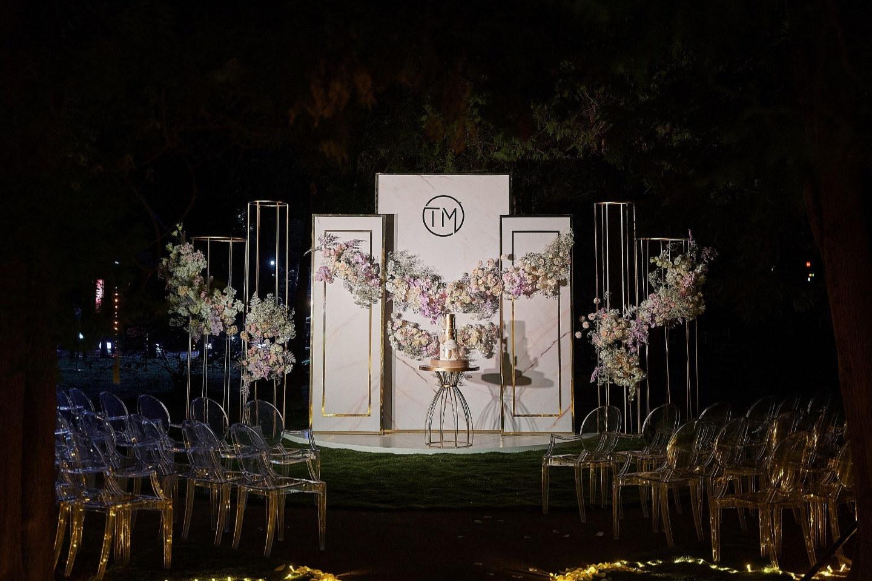 Air romance: романтическая свадьба за городом