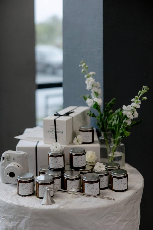 Сахарная любовь: лаконичная и камерная свадьба