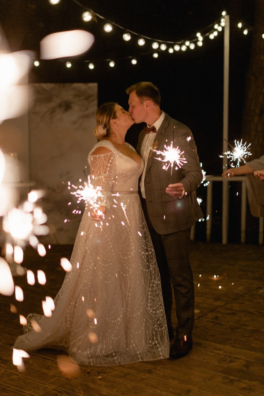 Autumn love: камерная свадьба в загородном отеле