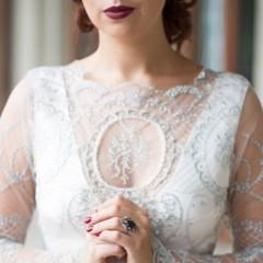 Sasha Grebneva Wedding Gown